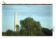A Weeping Willow Washington Monument Carry-all Pouch