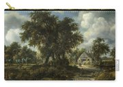 A Woody Landscape Carry-all Pouch