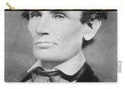 Abraham Lincoln Carry-all Pouch by Unknown