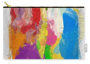 Abstract Colors Carry-all Pouch