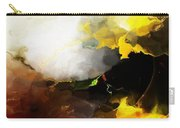 Abstract Under Glass Carry-all Pouch