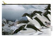 Adelie Penguins Carry-all Pouch