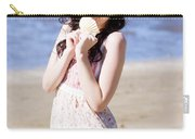 Adorable Seaside Girl Carry-all Pouch