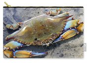 Adult Male Blue Crab Carry-all Pouch
