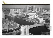 Aerial Of Downtown Tampa And Harbour Island Carry-all Pouch