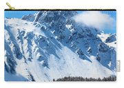 Aerial Of Mount Sneffels With Snow Carry-all Pouch