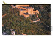Aerial Photo  Alhambra And Albaycin In Granada Carry-all Pouch