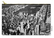 Aerial View Of Central Park Carry-all Pouch