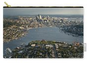 Aerial View Of Seattle Carry-all Pouch