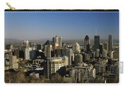 Aerial View Of Skyscrapers In A City Carry-all Pouch