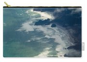 Aerial View Of Tasman Sea Shore Nz North Island Carry-all Pouch