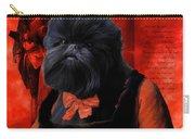 Affenpinscher Art By Nobility Dogs Carry-all Pouch