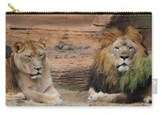 African Lion Couple Carry-all Pouch