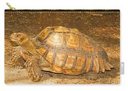 African Spur Thigh Tortoise Carry-all Pouch