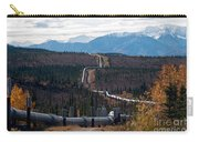 Alaska Oil Pipeline Carry-all Pouch