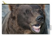 Alaskan Brown Bear Carry-all Pouch