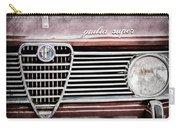 Alfa-romeo Guilia Super Grille Emblem Carry-all Pouch