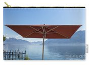 Alpine Lake With Parasol Carry-all Pouch