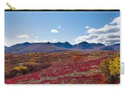 Alpine Landscape In Fall Carry-all Pouch