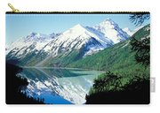 Altai Mountains Carry-all Pouch by Anonymous