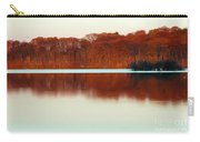 Amber Autumn Lake Carry-all Pouch