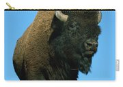 American Bison Bull Carry-all Pouch