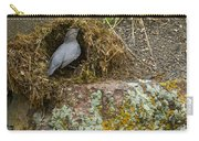 American Dipper Building Nest   #1535 Carry-all Pouch