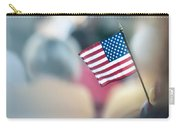 American Flag Carry-all Pouch by Alex Grichenko