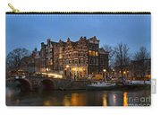 Amsterdam Corner Cafe Carry-all Pouch