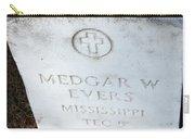 Medgar Evers -- An Assassinated Veteran Carry-all Pouch