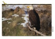 An Eagle Perched   Carry-all Pouch