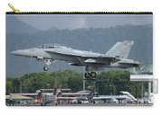 An Fa-18 Super Hornet Of The U.s. Navy Carry-all Pouch