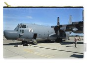 An Mc-130h Combat Talon II On The Ramp Carry-all Pouch