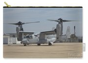 An Mv-22 Osprey Taxiing At Marine Corps Carry-all Pouch