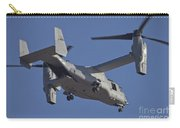 An Mv-22b Osprey Prepares For Landing Carry-all Pouch