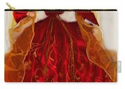 Angel Christmas Card Carry-all Pouch