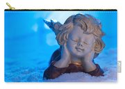 Angel In Snow  Carry-all Pouch
