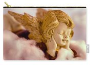Angel Resting On Clouds And Enjoying The Sun Carry-all Pouch