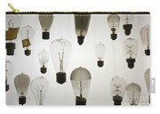 Antique Light Bulbs Carry-all Pouch