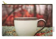 Antique Teacup In The Woods Carry-all Pouch by Edward Fielding