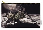 Apollo 17 Moon Landing Carry-all Pouch by Science Source