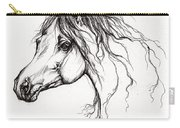 Arabian Horse Drawing 37 Carry-all Pouch