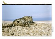 Arabian Leopard Panthera Pardus 1 Carry-all Pouch