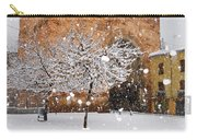 Arc Of Elvira While A Snowstorm Carry-all Pouch