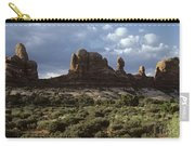 Arches National Park Sunrise Rock Formations  Carry-all Pouch