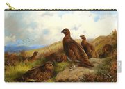 Red Grouse Carry-all Pouch