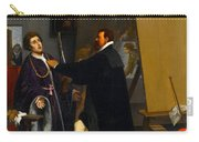 Aretino In The Studio Of Tintoretto Carry-all Pouch