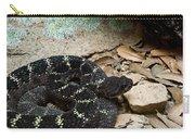 Arizona Black Rattlesnake Carry-all Pouch