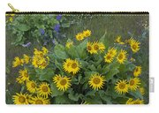 Arrowleaf Balsamroot And Lupine Carry-all Pouch