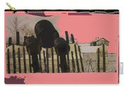 Art Homage Andrew Wyeth Bucket Fence Collage Near Aberdeen South Dakota 1965-2012 Carry-all Pouch
